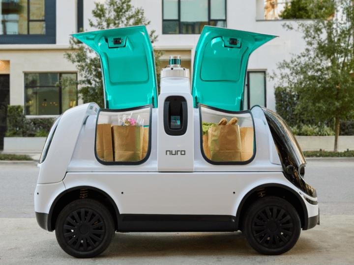 自動運転配送車を開発する米Nuro カリフォルニア州の公道での試験走行を開始