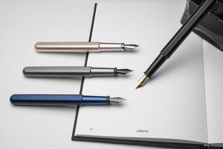 マグネット構造を採用した スタイリッシュな万年筆「stilform INK」