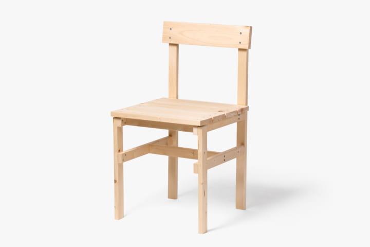大口進也のDIYプロジェクト 第1弾 木製チェア「DIY MAKING / #01-Chair」