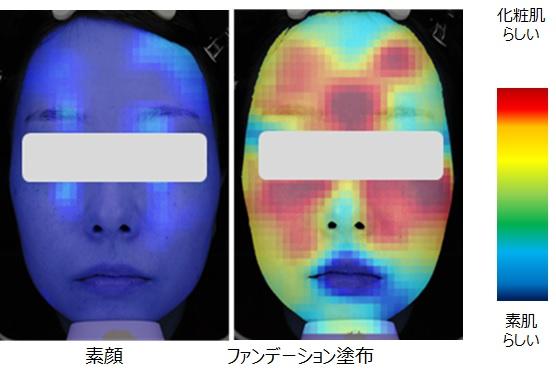 花王 メイクアップ研究所 肌の印象を客観的に評価する「肌評価AI」を開発