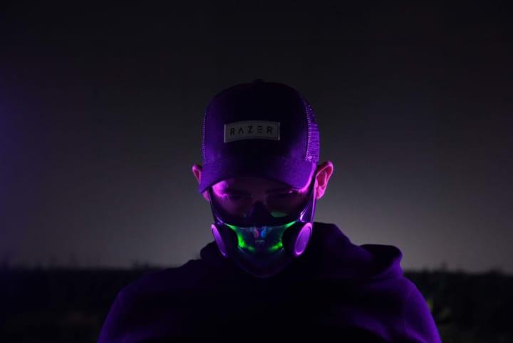 ゲーミングデバイスメーカー Razerが手がける コンセプトフェイスマスク「Project Hazel」