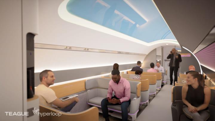2030年開業を目指す高速輸送システム 「Virgin Hyperloop」のコンセプトムービーが公開