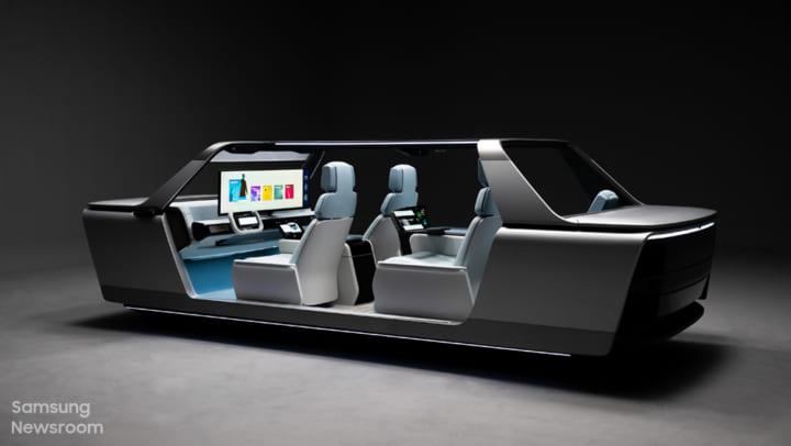 未来の車内空間を徹底的に追求した Samsungの「Digital Cockpit 2021」