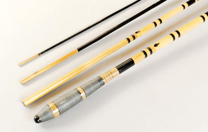 日本伝統の釣りスタイルを味わえる 竹を素材とする「和竿」