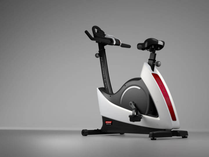 コナミスポーツの家庭用フィットネスバイク 最新モデル「エアロバイクEXS」