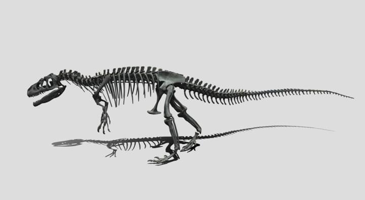 国立科学博物館と凸版印刷 新たな恐竜のデジタルコンテンツを提供