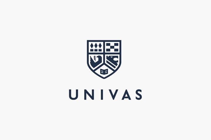 「心・技・体・知・徳」の5大原則を兼ね備える 大学スポーツ協会のロゴデザイン