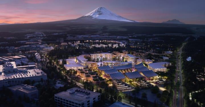 トヨタ、未来の実証都市 「Woven City」を静岡・裾野で着工