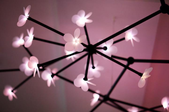感染拡大のシナリオを光・プロペラ・ダイアグラムで表現 デンマークのStudio Rosoが手がける「Bloom」