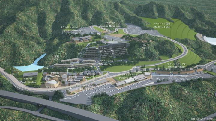 三重県多気町に大型商業リゾート施設「VISON」がオープン 「三重故郷創生プロジェクト」として日本の食や…