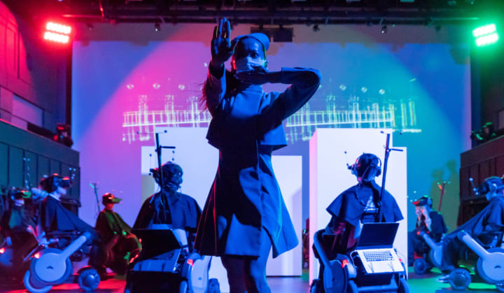 ライゾマティクスが手がけるダンス作品「border」 5年の歳月を経てアップデート版が公開