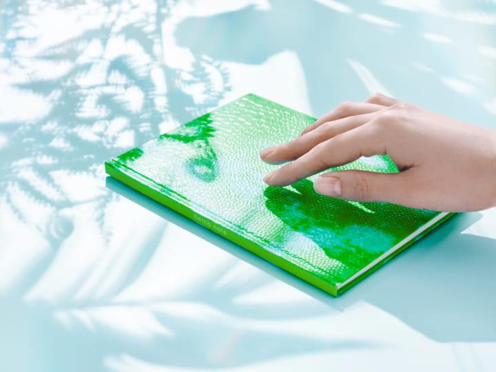 特殊印刷で絶滅危惧種のスキンを擬似再現 ノートブック「flerco note」が登場