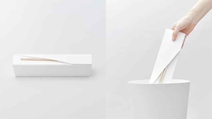 日本デザインセンターの「CYQL PROJECT」第1弾 「捨て心地のよいお弁当容器 FOLDING」