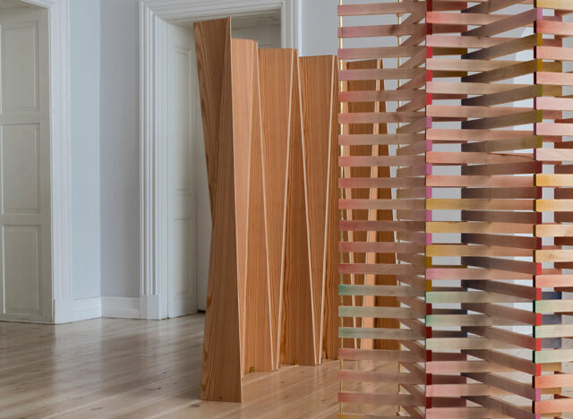 コペンハーゲンの建築家 Else-Rikke Bruunによる デジタル技術と工芸を融合させたスクリーン作品