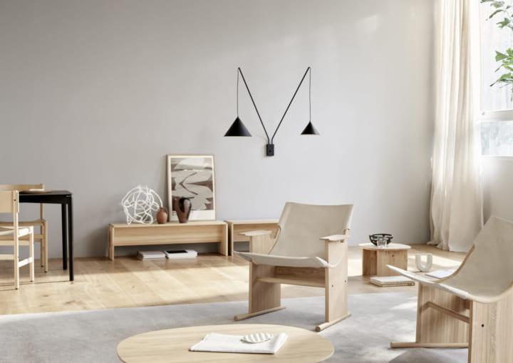 ファニチャーブランド TAKTから サステナビリティにこだわる「Sling Lounge Chair」が登場