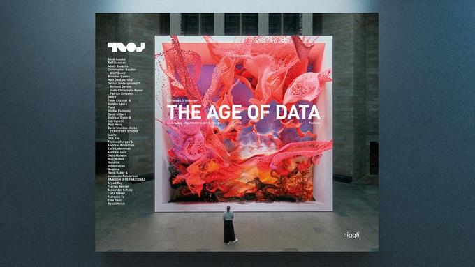 国内外のデータドリブンな作品を 集約した書籍「THE AGE OF DATA」