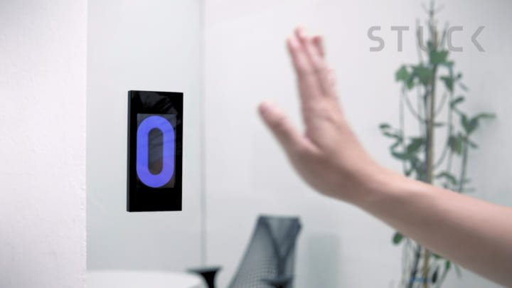 自動ドアに「引き戸」の感覚を取り戻す STUCKによる自動ドアシステム「Kinetic Touchless 2.0」