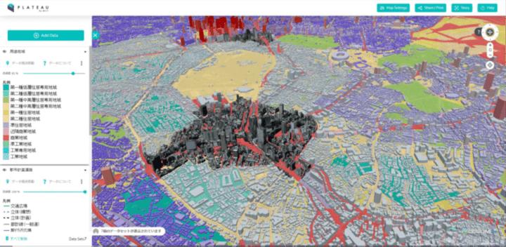 国土交通省、全国56都市の3D都市モデルを整備し オープンデータとして「Project PLATEAU」を公開