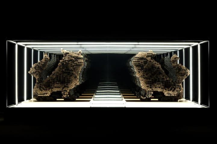 神宮の杜芸術祝祭 「気韻生動」にて 金沢のクリエイター集団 seccaの新作「A↔︎UN」が公開