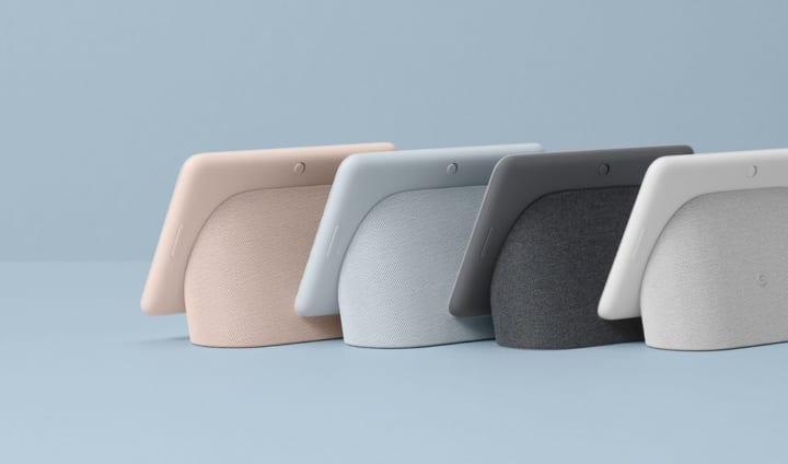 「Google Nest Hub」の第2世代が登場 より洗練されたカラーやデザインを採用