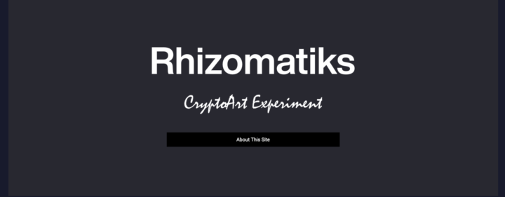 ライゾマティクスがCryptoArtの課題を問う  独自のプラットフォーム「CryptoArt-Experiment」をローンチ