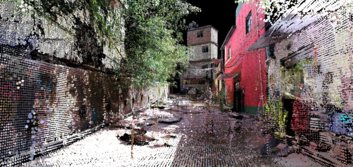 迷路のようなリオのスラム街を3Dレーザースキャン MITの都市分析プロジェクト「Favelas 4D」