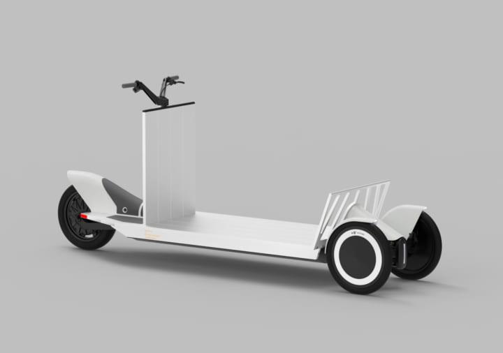 コンスタンティン・グルチッチがデザインする 新しい都市型配送モビリティ「Re:Move」
