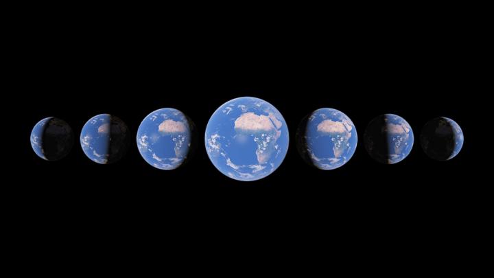 「Google Earth」にタイムラプス機能が追加 地球上の過去37年間の変化を可視化