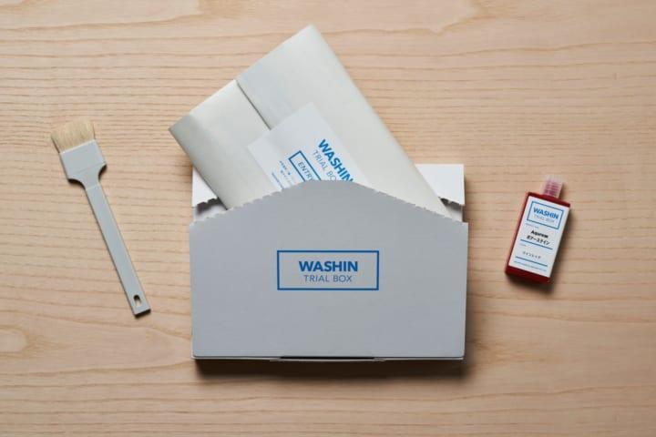 DRILL DESIGNが手がけた和信化学⼯業の 水性塗料トライアルボックス「WASHIN TRIAL BOX」