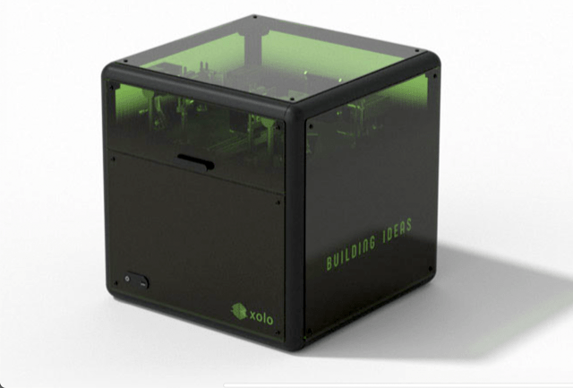 オブジェクト全体を一気にプリントする超高速3Dプリンタ「xube(クスーブ)」