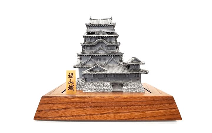 3Dデータと精密鋳造技術で 建設当時の広島県福山城としゃちほこを再現