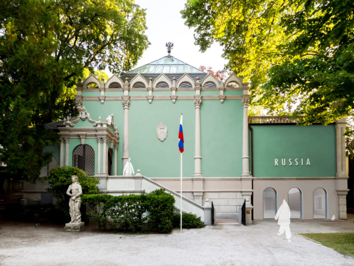 東京とモスクワを拠点にする建築家ユニットKASAが ヴェネツィア・ビエンナーレ会場のロシア館を改修
