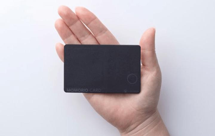 薄さ1.7mmを実現した カード型紛失防止デバイス「MAMORIO CARD」