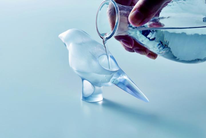 お酒を控えたい人のための酒器 TAKI PRODUCTS藤井賢二による「小鳥のおちょこ」