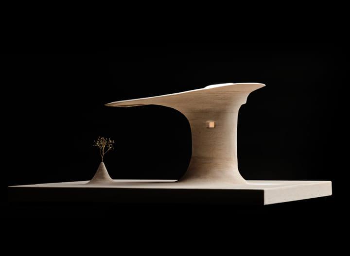 建築家・遠野未来による土の建築作品 「再生する森 JINEN(自然)」がヴェネチアに建設