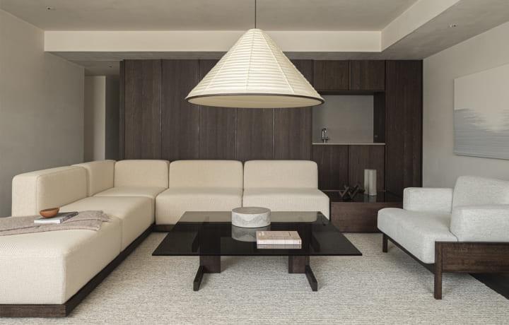 「Karimoku Case Study」による新たなプロジェクト Case Study 04「Azabu Residence」