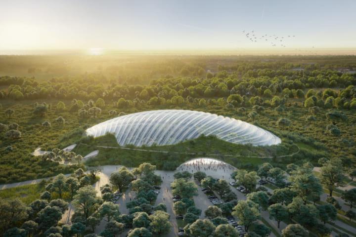 世界最大の温室プロジェクト「Tropicalia」 ヴェネチア・ビエンナーレにて模型が公開