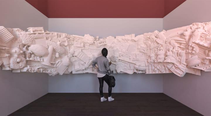 ロンドンデザインビエンナーレ2021日本展示 建築家・平野利樹による「Reinventing Texture」