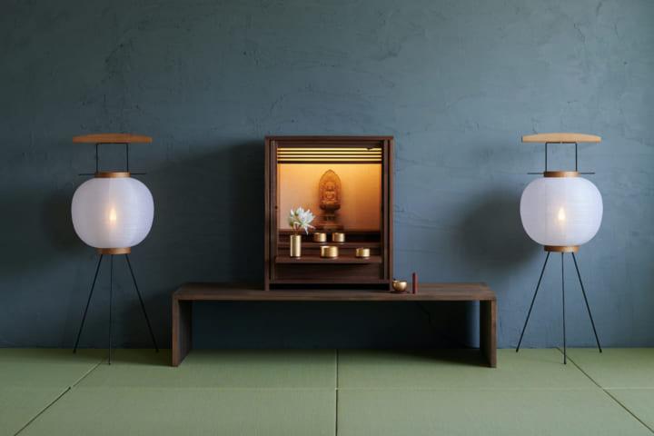 若林佛具製作所の「KAKEHASHI SERIES」に 清水慶太による新作盆提灯「AGASATO/TSUDOI」登場
