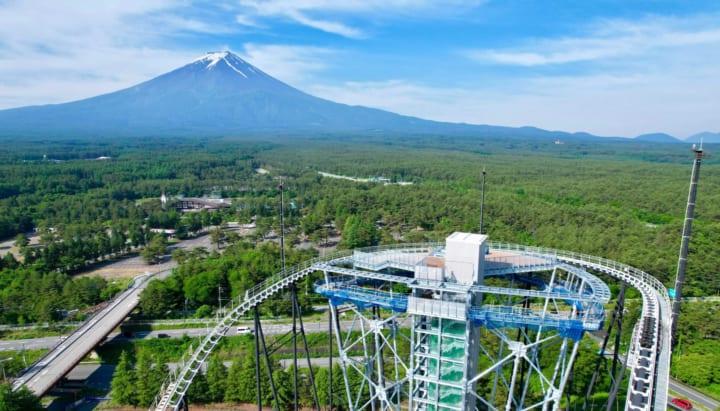富士山一望の絶景展望台「FUJIYAMAタワー」 富士急ハイランドエリア内に7月21日オープン