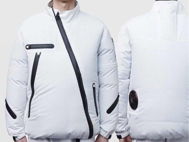 寛斎スーパースタジオがデザインを手がけた 「KANSAI UNIFORM × 空調風神服®︎」