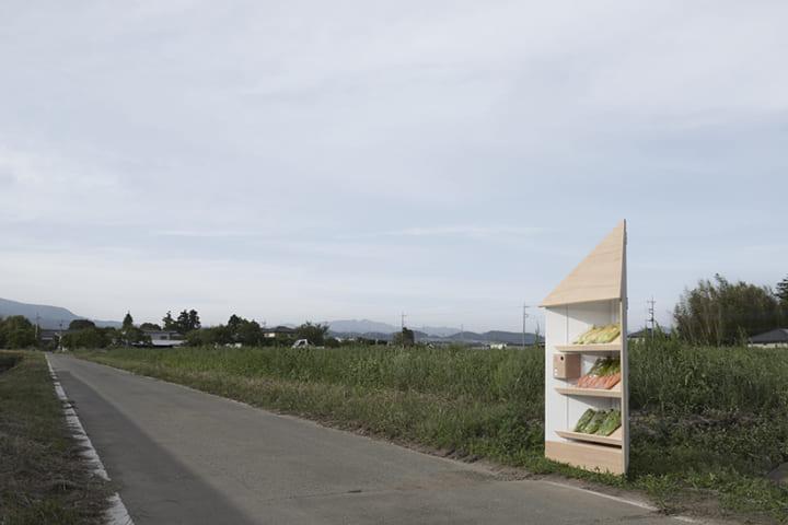 フードロスの問題に向けて nendoがカスタマイズ性の高い「無人販売所」をデザイン