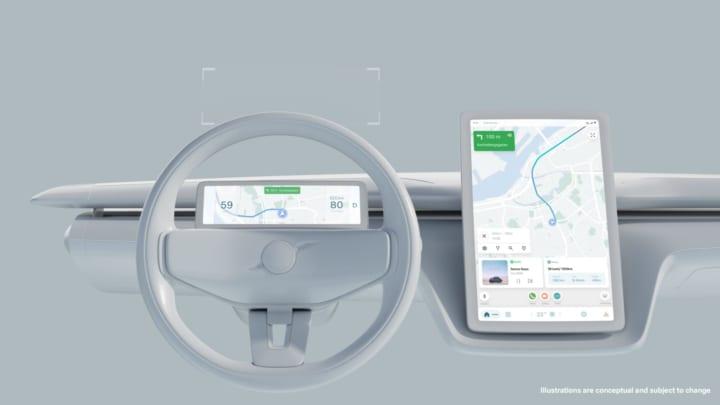 VOLVOとGoogleが次世代EVを開発 接続性の高いユーザーエクスペリエンスを提供
