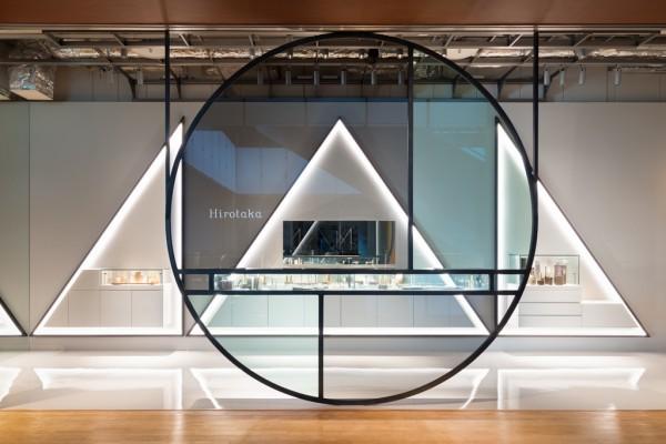 トラフ建築設計事務所が内装を手がけた ジュエリーブランド「Hirotaka」の新店舗