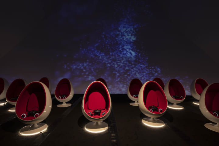シンガポールの美術館ArtScience Museumに 常設のカプセル型VRギャラリーがオープン