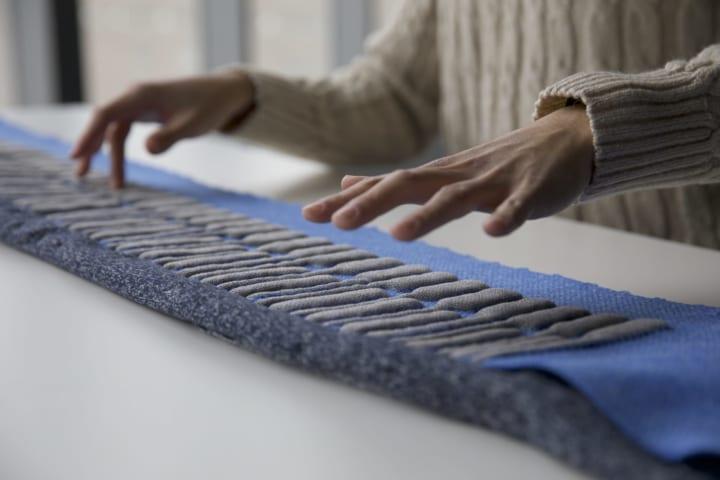 テキスタイルベースの電子楽器の機能性を拡張 MITメディアラボの「KnittedKeyboard II」