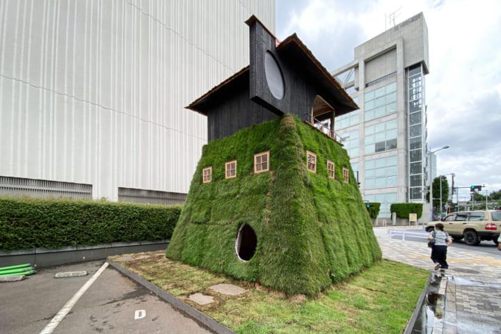藤森照信が設計した茶室「五庵」 「パビリオン・トウキョウ2021」にて公開