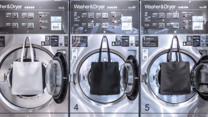 objcts.ioから洗濯乾燥に対応した 「ウォッシャブルレザートート」が登場