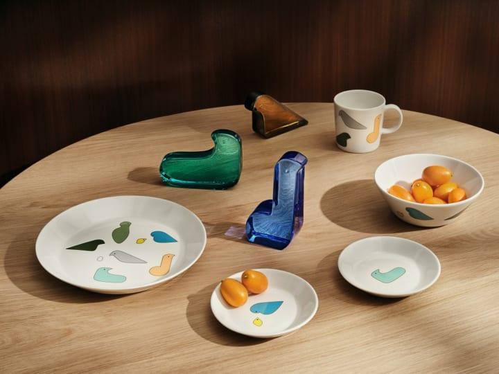 Iittala X minä perhonen コレクション 皆川明デザインによる2021年新色が登場