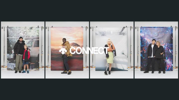 自由にウエアの形を変える 新プロジェクト「DESCENTE CONNECT」